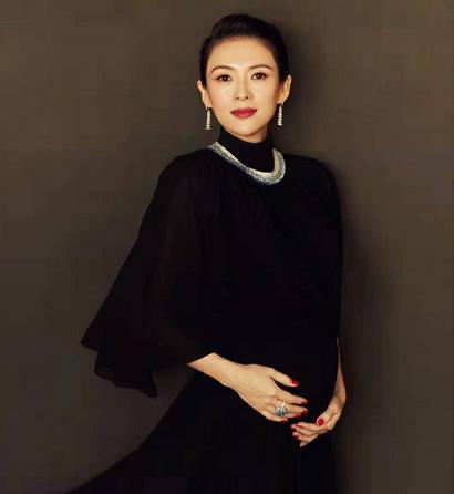 章子怡承认怀二胎,40岁再当准妈