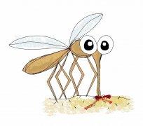 蚊子咬后,竟出现高烧不退、深度